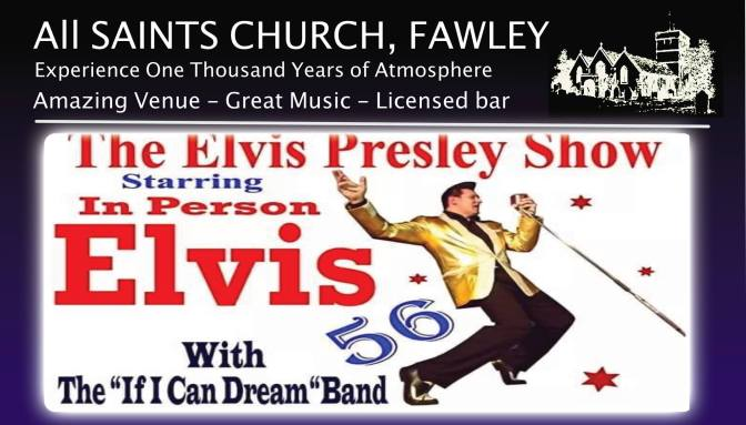 Elvis Tribute Saturday 8th of December