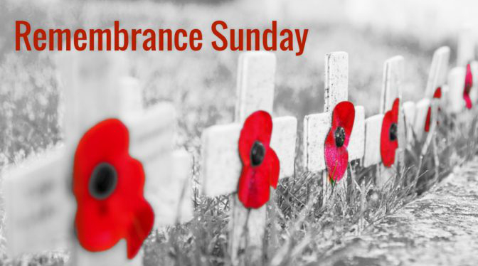 Remembrance Sunday 3.00pm 11th of November
