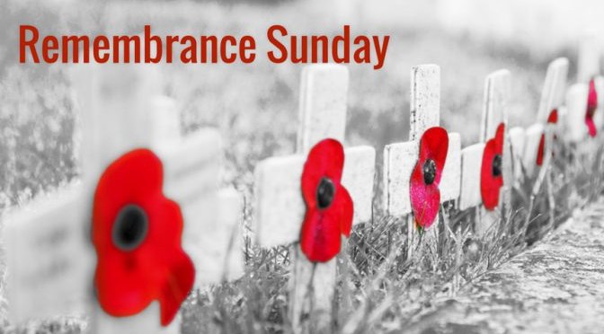 Remembrance Sunday 3.00pm 10th of November