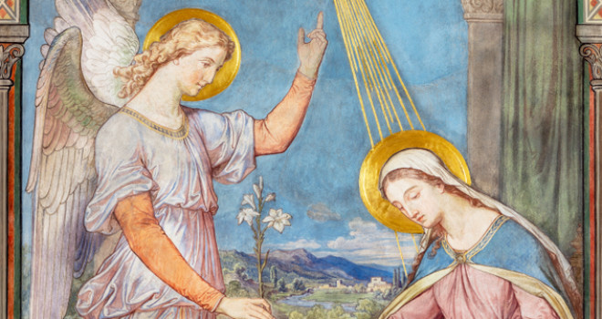 Wednesday the 25th Annunciation