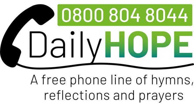 Daily Hope Free Phone of Hymns, Prayers & Refelections